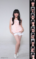 Foto Biodata Christy Cherry Belle
