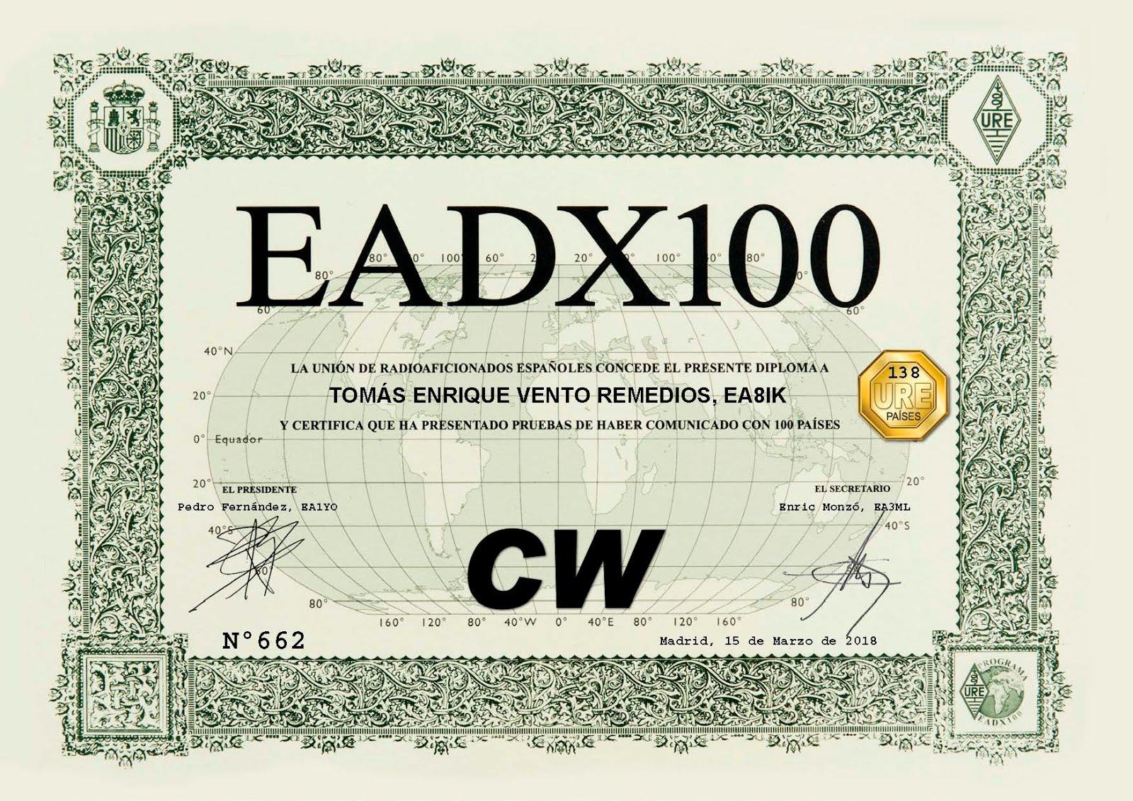 Diploma EADX100 CW