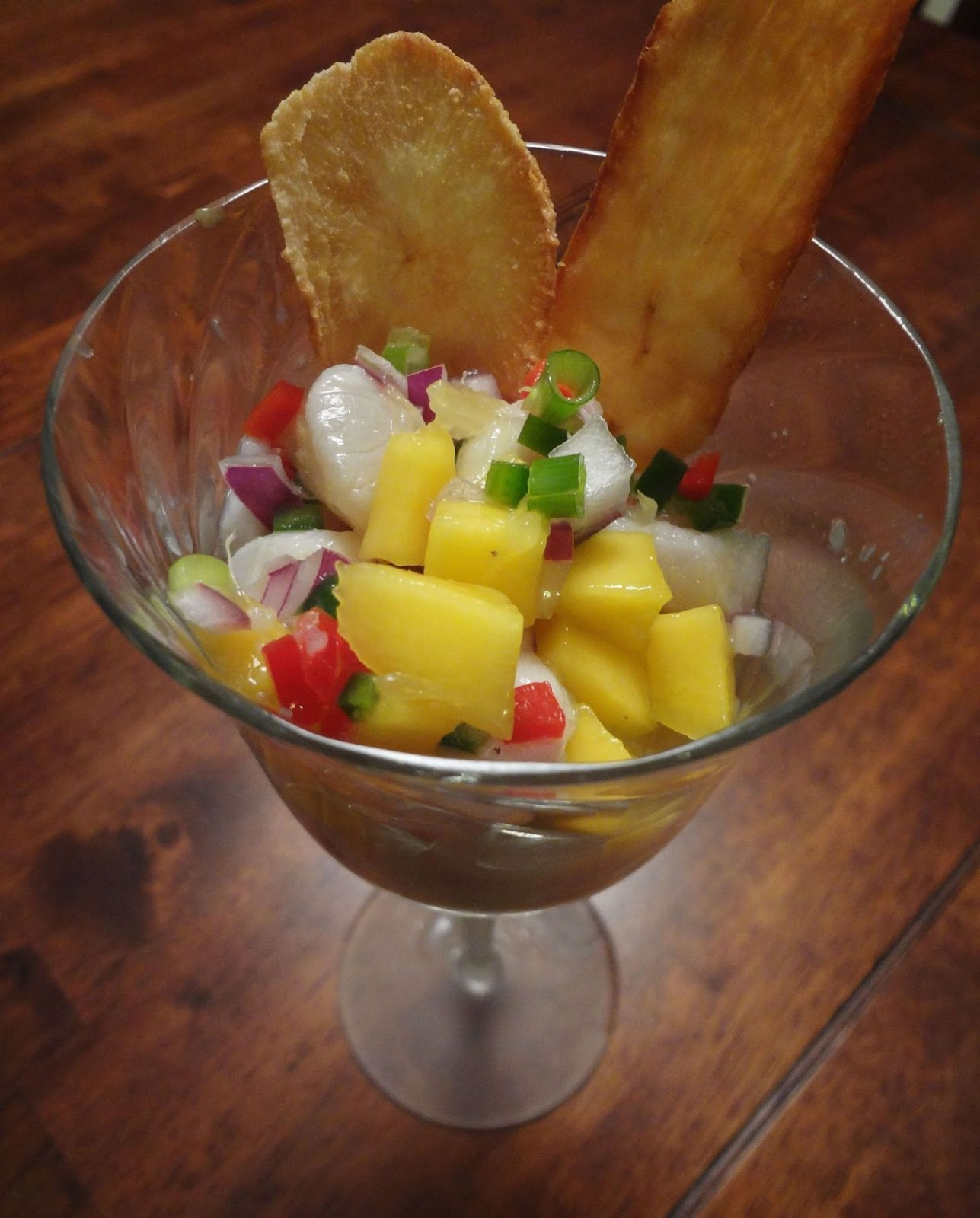Sweet Cheeks: Tropical Ceviche
