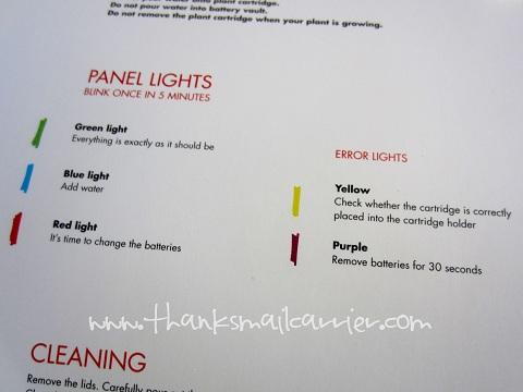 Click & Grow panel lights