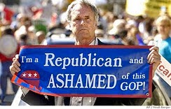 Ashamed to be a Republican
