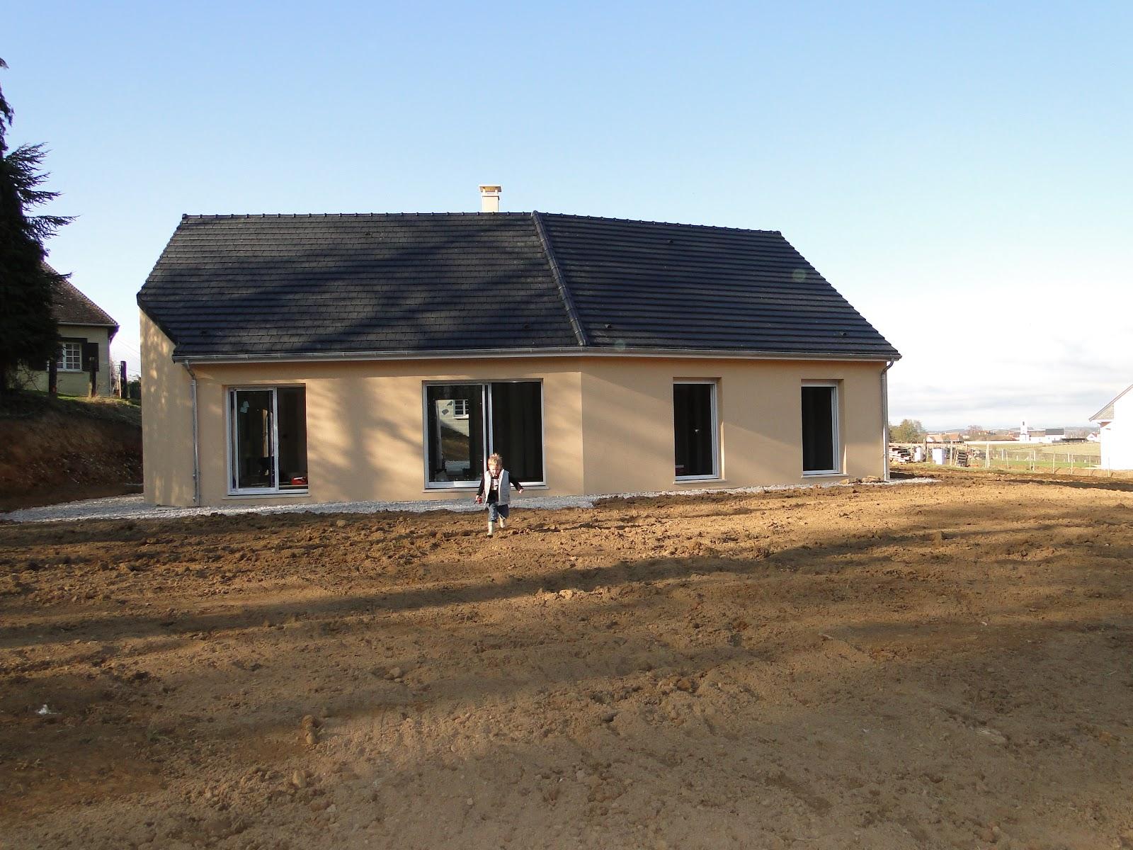 Le terrassement final fin notre futur maison for Terrassement maison