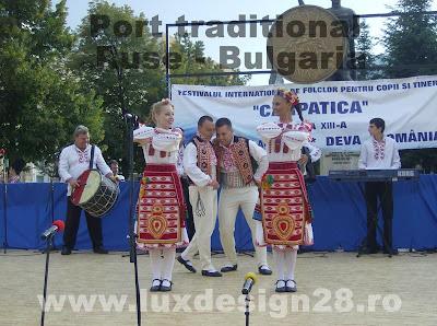 Porturi si dansuri traditionale din orasul Ruse - Bulgaria