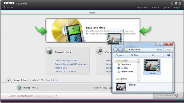 Nero Multimedia 12 – Video Converter