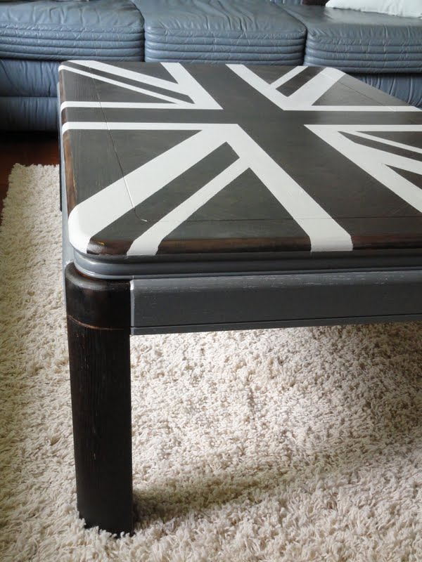Kayboo Creations Union Jack Coffee Table
