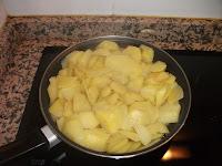 Friendo la patata