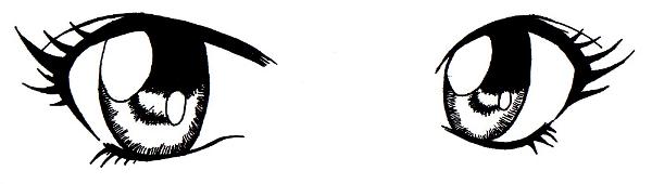 Tuto dessin oeil manga - Dessiner un manga facilement ...