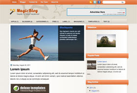 Magic Blog Blogger Template