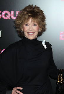 Jane Fonda hairstyle at the