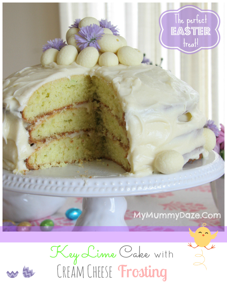 My Mummy Daze: Key Lime Cake with Cream Cheese Frosting