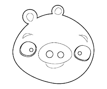 #7 Angry Birds Coloring Page
