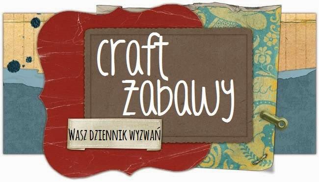 Korzystam ze spisu wyzwań na blogu Craft Zabawy