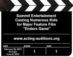 Enders Game Auditions Casting Calls