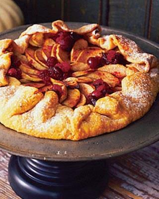 Tarta de manzana y arandano para bajar de peso 2