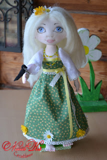 Art doll handmade by NatalKa Creations