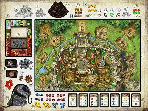 Stronghold gra planszowa portal games recenzja opinia nowość kamil czyta książki kamil gra #5 epickie bitwy i niezdobyte twierdze