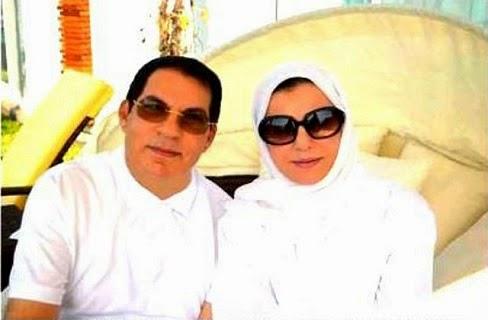 تونس: شاهد ماذا قال بن علي وحرمه ليلى الطرابلسي على نتائج الانتخابات
