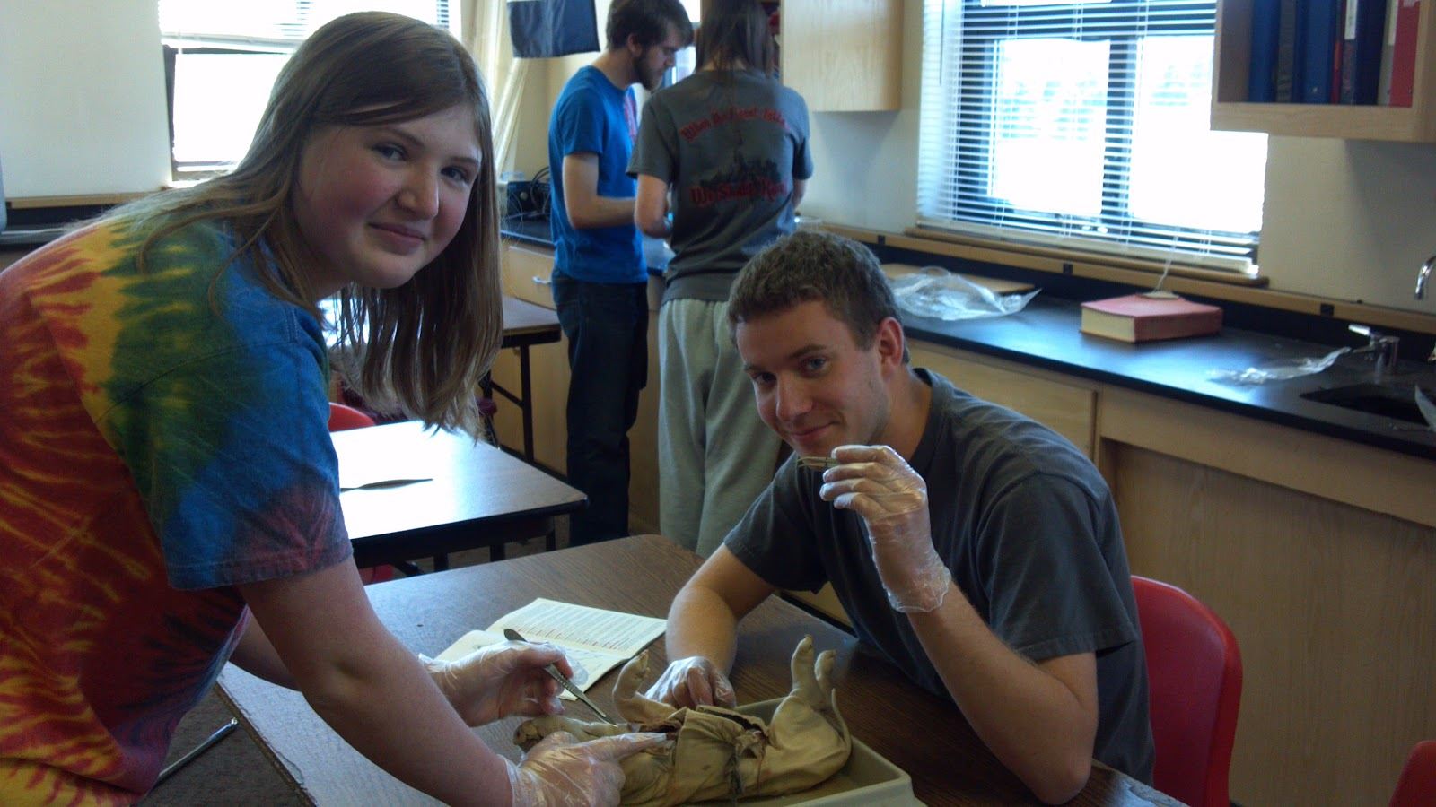 Chadron High School Blog: Anatomy and Physiology Class