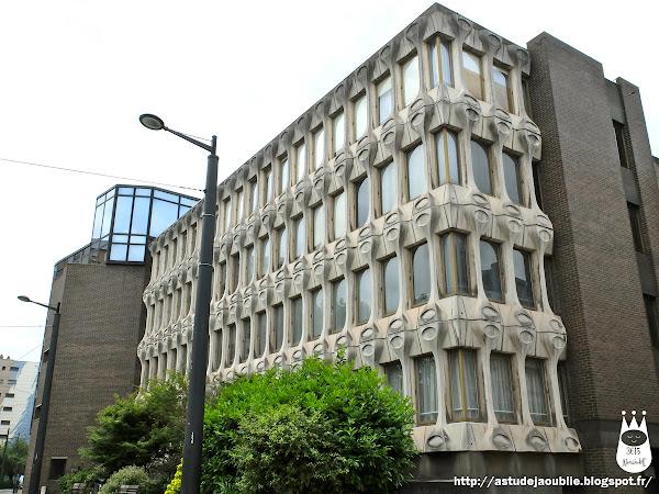 Valenciennes - Tribunal de grande instance  Architecte:  Construction: