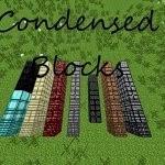 Minecraft+Condensed+Blocks+Mod+1.7.2 Minecraft Condensed Blocks Mod 1.7.2