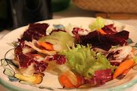 Salad at La Tagliata, Positano, Italy