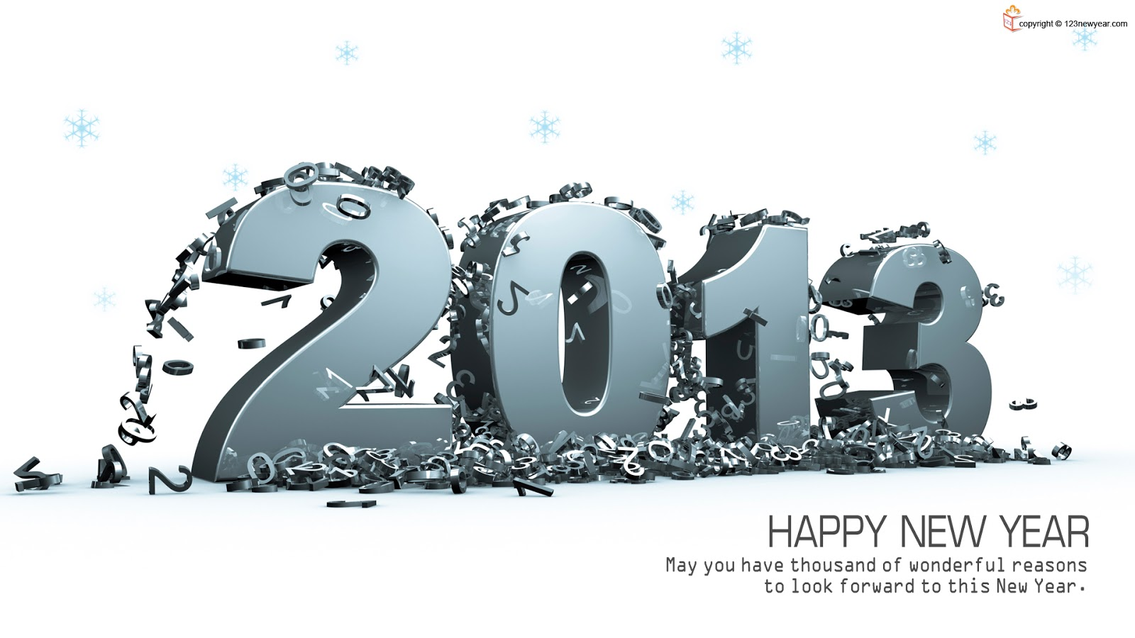 Wallpapers of Happy New Year 2013 | HD Images