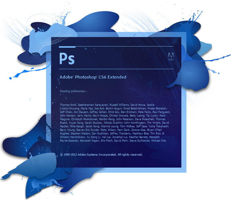 Take the crack, Adobe photoshop CS4 & patch for CS6