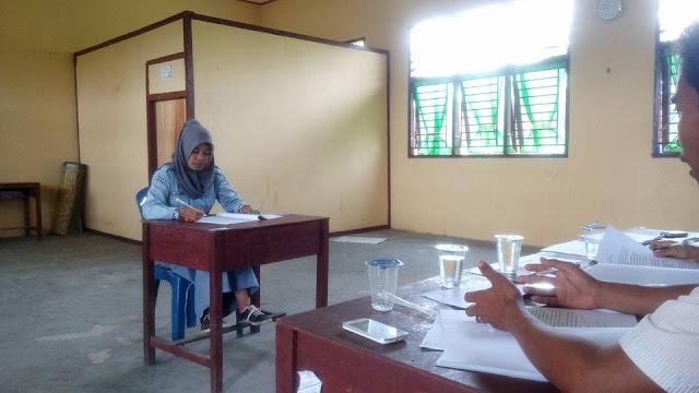 Ujian Laporan Praktek Kerja Industri ATPH SMK Negeri 2 Tambusai Utara