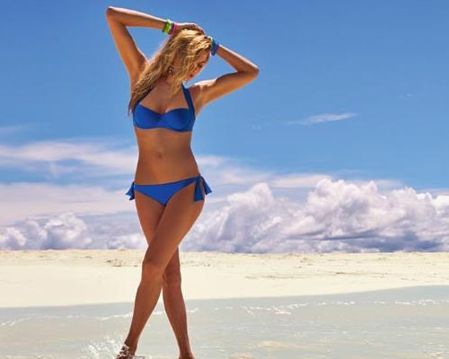 Szexi nyakpántos Push-up bikini - Calzedonia bikini trend 2013