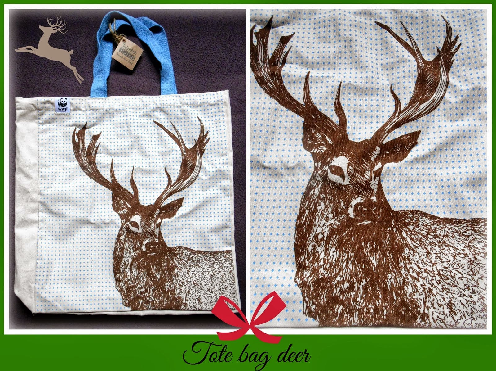 Stag Deer Tote Bag from WWF