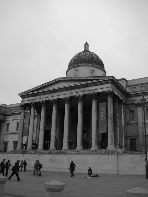 The National Gallery in London, England.