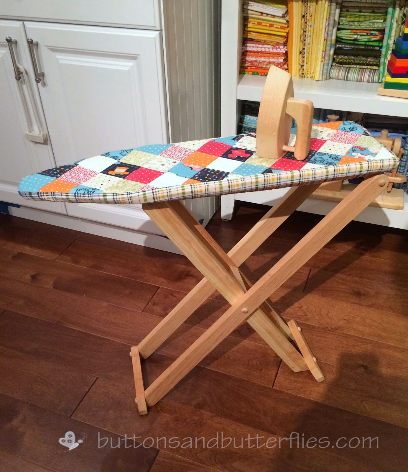 brown ironing board cover botpack
