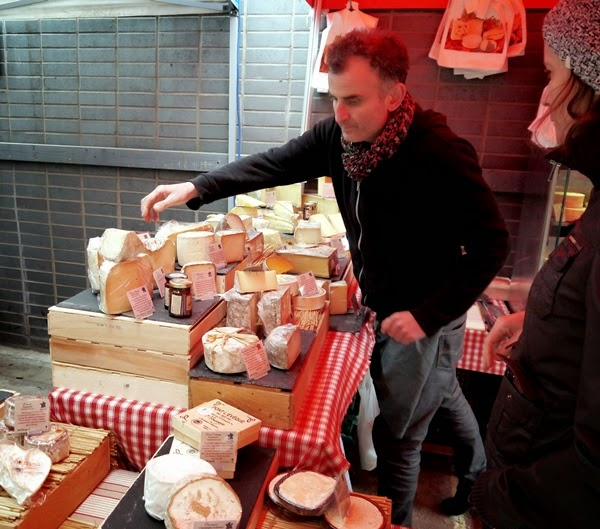 Cheese at Maltby Street Market, London