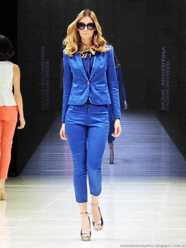 Markova trajes de mujer primavera verano 2014. Moda verano 2014.