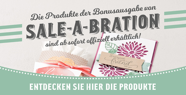 Zusätzlicher Sale-a-bration Flyer