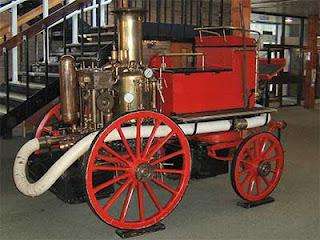 Los avances tecnológicos de los siglos 18 y 19 - foto de una máquina de vapor