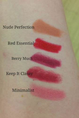 Maybelline Color Drama Lip Pencil Swatches