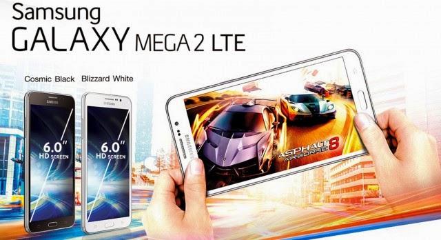 Harga Samsung Galaxy Mega 2 dan Spesifikasi Lengkap
