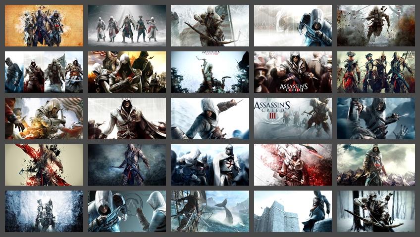 Bộ hình nền Assassin's Creed đẹp lung linh (full HD)