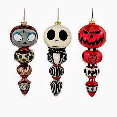 Nightmare before christmas ornaments - Jack skellington christmas decorations ...