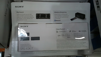 Sony SRSX3 Portable Bluetooth Speaker connects wirelessly to your smartphone or mobile device