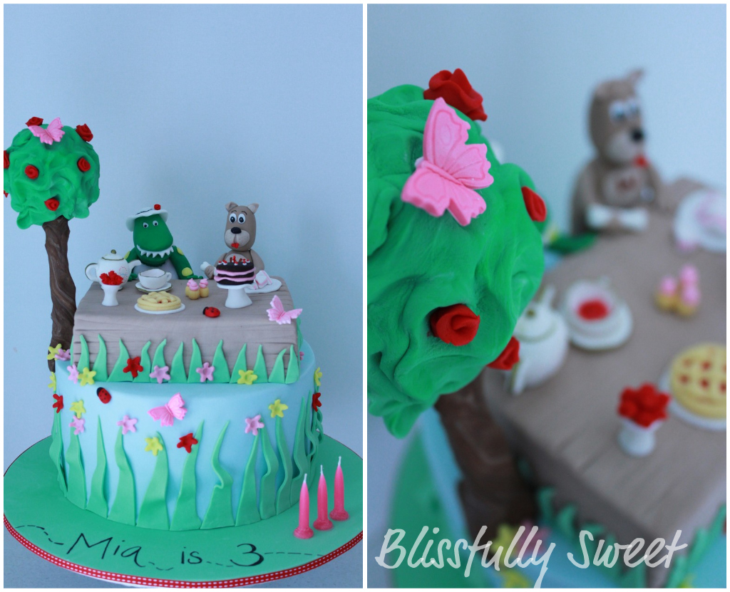 Dorothy The Dinosaurs Tea Party Birthday Cake