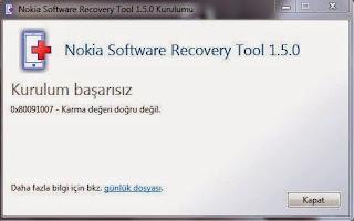 WP Recovery Tool Karma Değeri Doğru Değil ÇÖZÜMÜ