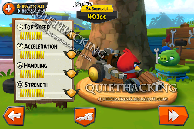 Angry Birds Go Cheat @ Quiethacking v.3.2 [New]