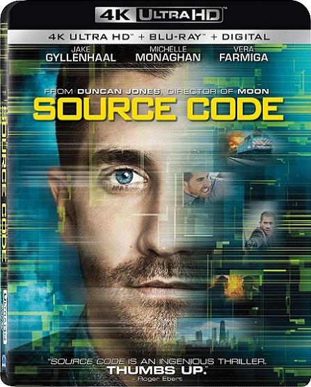 Source Code 4K (8 Minutos antes de Morir 4K) (2011) 2160p 4K UltraHD HDR BluRay REMUX 45GB mkv Dual Audio Dolby TrueHD ATMOS 7.1 ch