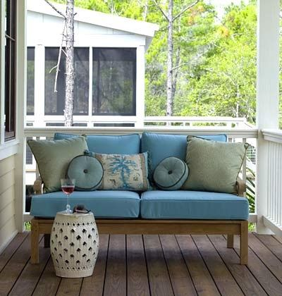 Porch Rocking Chairs Lowes Coastal Shore Creations: Creating a Beach Inspired Front Porch