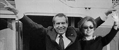 Nixon and Hillary by Tricky Dick, Icky Hill