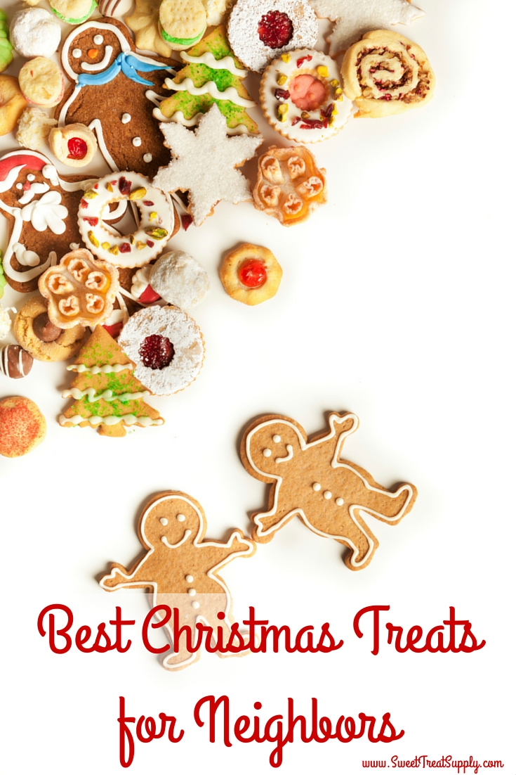 Sweet treat supply best christmas treats for neighbors whether you make everything yourself or spruce up something from the store you can bring delight to your neighbors and give them something to enjoy for solutioingenieria Choice Image