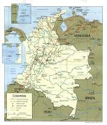 . mapa colombia
