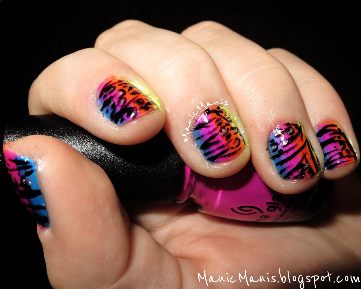 The Enchanting Cheetah print pink nail designs Digital Imagery